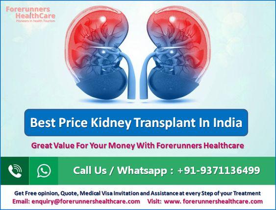 Best Price Kidney Transplant In India