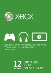 12 Monate Xbox Live Gold Fur 35 Online Spielen Und Games With Gold With Images Xbox Live Xbox Xbox One For Sale
