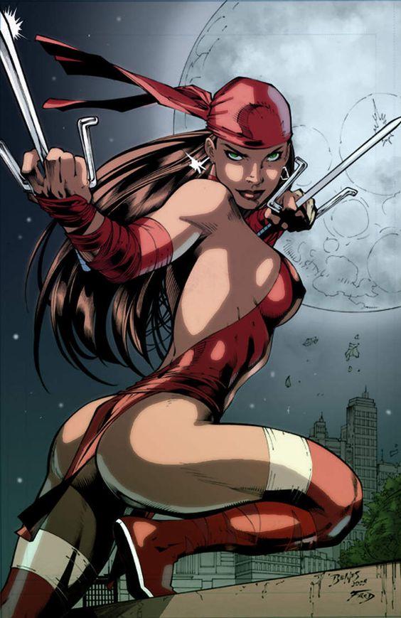 Las sexys de los cómics / Espectáculos