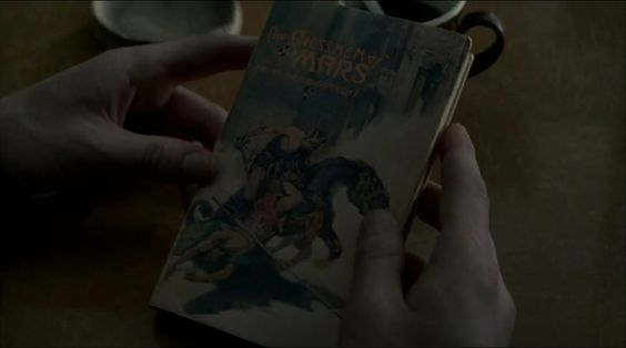 "The Chessmen of Mars, by Edgar Rice Burroughs - Boardwalk Empire Season 4 Episode 2 - ""Resignation"""