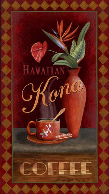 """Kona Coffee"" / Thomas Wood"