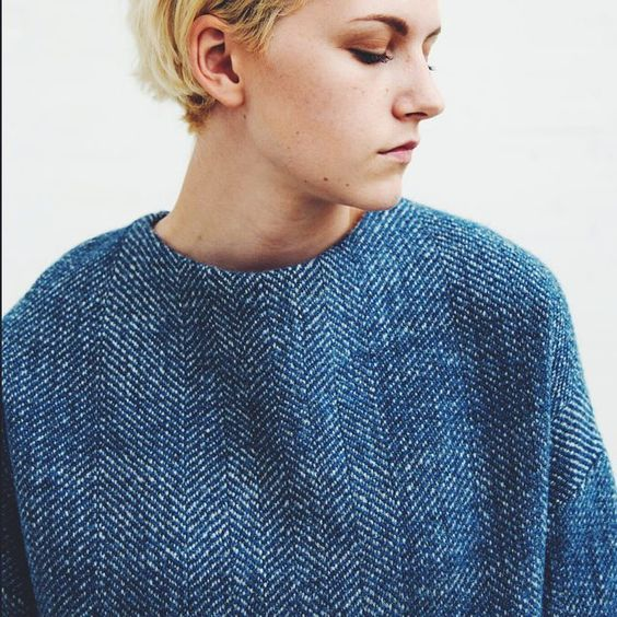 Some more pics on amygair.wordpress.com from the photoshoot we did last month. This woven Shetland jumper is made with 100% Shetland wool from Jamieson and Smith  #textiles #design #woventextiles #handwoven #fashionandtextiles #shetlandwool #Shetland #madeinscotland #craftsmanship  Model: Storm McMurrich  Photographer: Jamie A.M