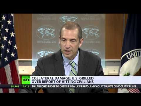 """US govt faces questions over civilian deaths in air strikes"" – LEON KWASI CHRONICLES"