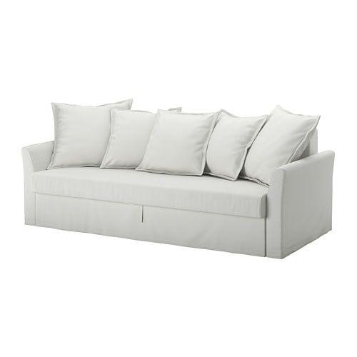 Holmsund Sleeper Sofa Orrsta Light White Gray ソファーベッド