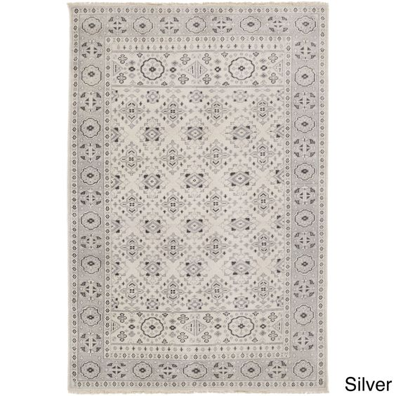 Hand-Knotted Orford Rug