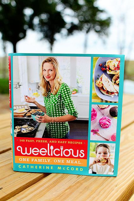 Catherine McCord's new book, Weelicious, one family. one meal.
