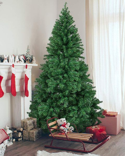 Amazon Just Quietly Slashed The Price Of Balsam Hill S Most Popular Faux Christmas Tree Fake Christmas Trees Best Artificial Christmas Trees Artificial Christmas Tree