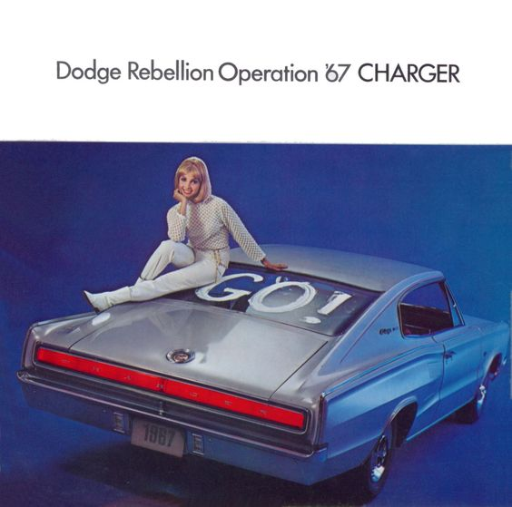 The Dodge Charger had the key to an exciting escape in the 60s! Bullitt, anyone?