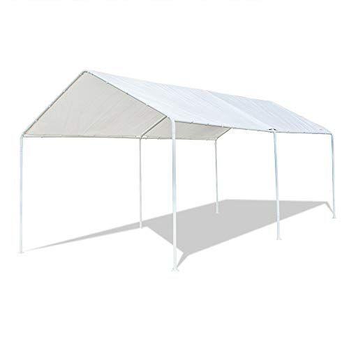 Vingli 10 X20 Domain Carport Car Canopy Upgraded Steady Https Www Amazon Com Dp B07c4778d3 Ref Cm Sw R Pi Dp U In 2020 Car Canopy Carport Canopy Camping Canopy