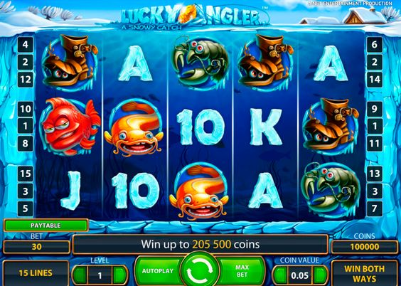 """Angeln ist zu langweilig! Aber Lucky Eisangeln ist viel viel spanneder! Verpasse die Chence nicht für Spielgeld zu spielen! Versuche dich beim Eisangeln und teste """"Lucky Angler"""" von NetEnt! Fange deine Gewinne auf! Los gehts!"""