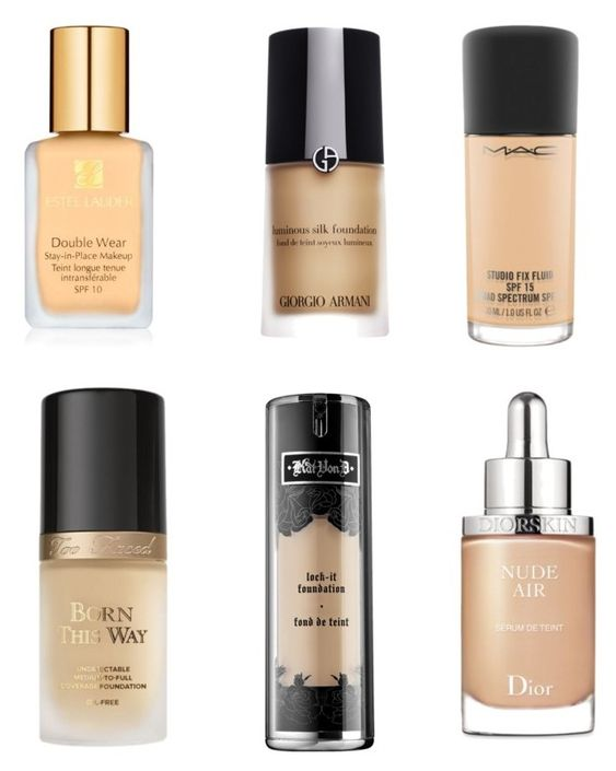 """""""BEST HIGH END FOUNDATION"""" by volddecorltt on Polyvore featuring beauty, Estée Lauder, Giorgio Armani, Kat Von D, Too Faced Cosmetics, MAC Cosmetics and Christian Dior"""