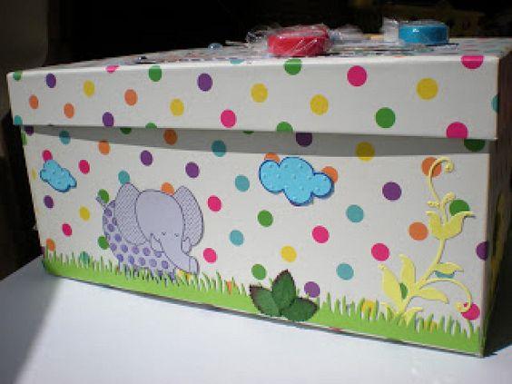 Pintar cajas de madera diy y manualidades - Manualidades cajas madera ...