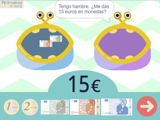 Los monederos Come-euros (5-25€)