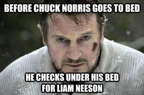 Watch out Chuck