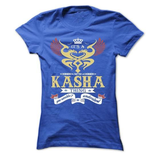 its a KASHA Thing You Wouldnt Understand ! - T Shirt, H - #mens dress shirts #customize hoodies. BUY TODAY AND SAVE  => https://www.sunfrog.com/Names/its-a-KASHA-Thing-You-Wouldnt-Understand--T-Shirt-Hoodie-Hoodies-YearName-Birthday-44973578-Ladies.html?id=60505