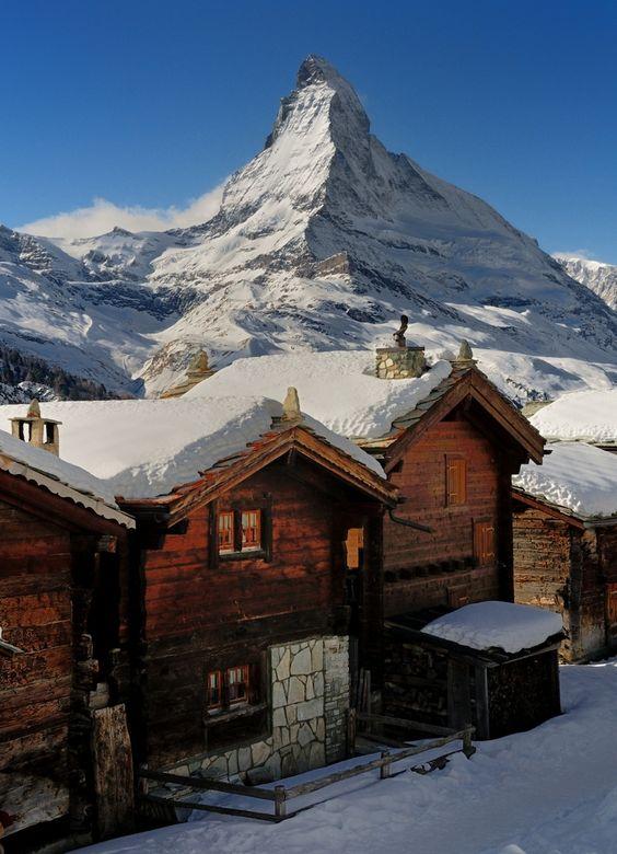 Findeln Zermatt von Urs Leuenberger