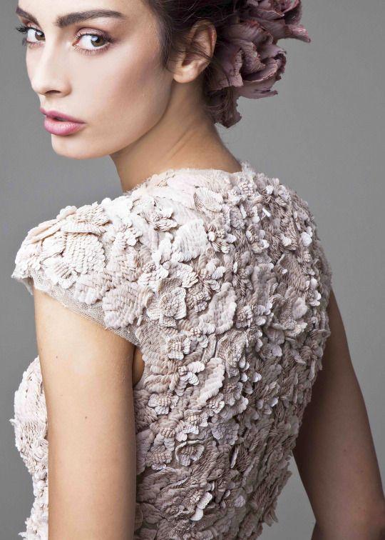 Krikor Jabotian Couture Spring 2016 (details)