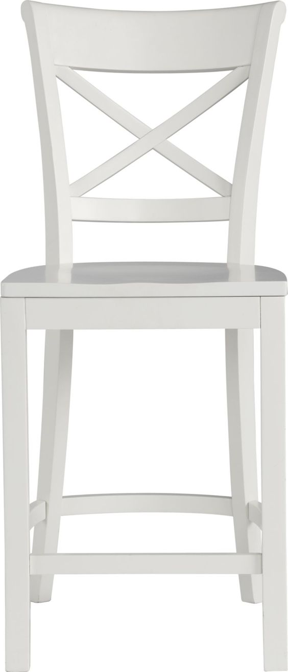 Vintner White Counter Stool White Bar Stools Chairs And