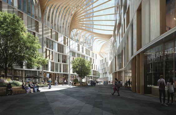 Alle prämierten Entwürfe - Deutsche-Bank-Areal in Frankfurt
