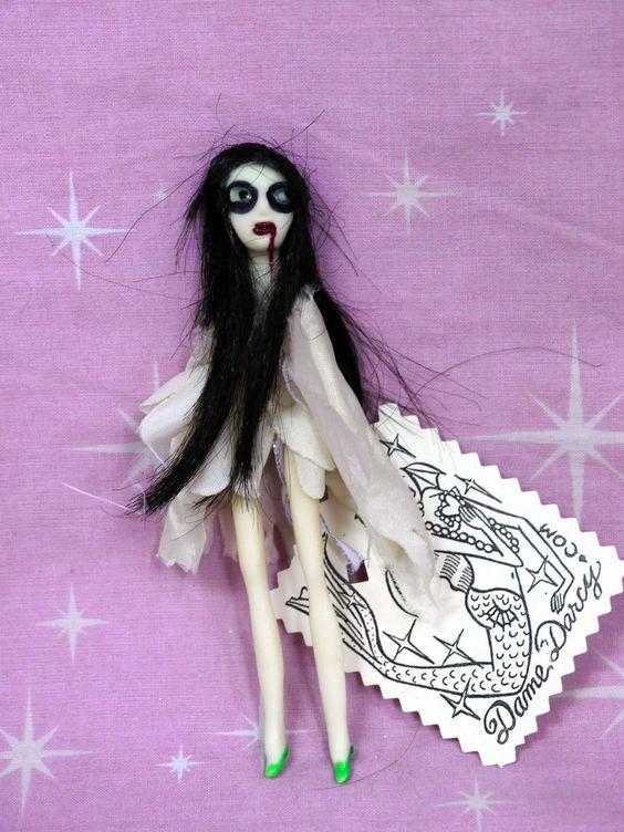 Gothic Lolita Doll Sybil Jewel by Dame Darcy