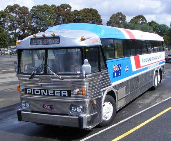 Australia pioneer gray line 1962 mci mc7 rh drive buses for Rh motors gadsden al