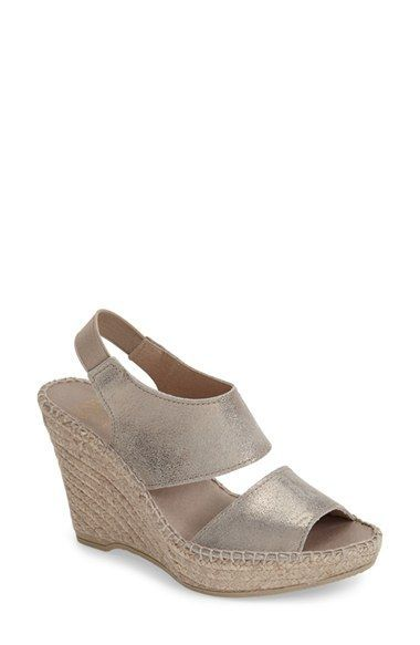 Andre Assous 'Reese' Wedge Sandal (Women)