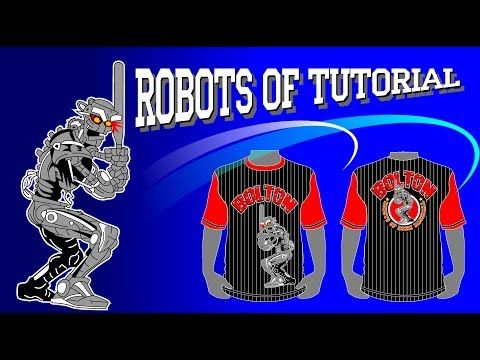 Menggambar Robot Dengan Coreldraw Youtube Belajar Menggambar Gambar Belajar