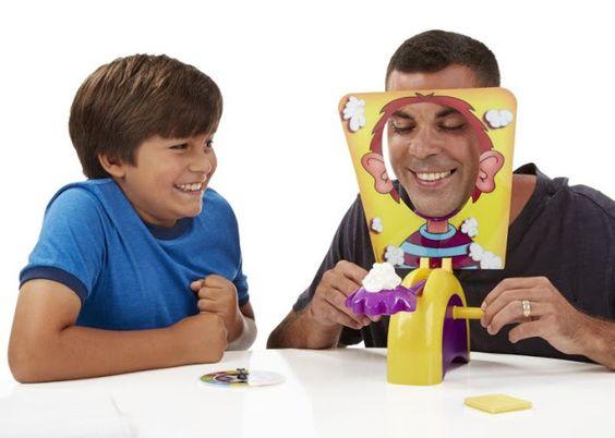 BLOG DOS BRINQUEDOS: Pie Face Game