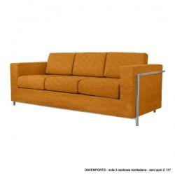Sofa 3 Osobowa Davenports Rozkładana - Rosanero