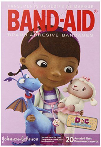 Band-Aid Adhesive Assorted Bandages, Doc Mcstuffins, 20 Count (Pack of 6) Band-Aid http://www.amazon.com/dp/B00IGZZNOO/ref=cm_sw_r_pi_dp_JD.Utb0MZJ47SVF3