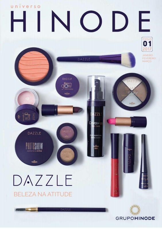 Nova linha de Maquiagem Dazzle, Beleza na atitude.
