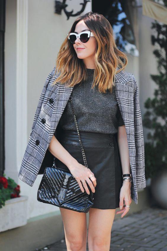 3 Looks com tênis xadrez para o inverno | FashionCoolture