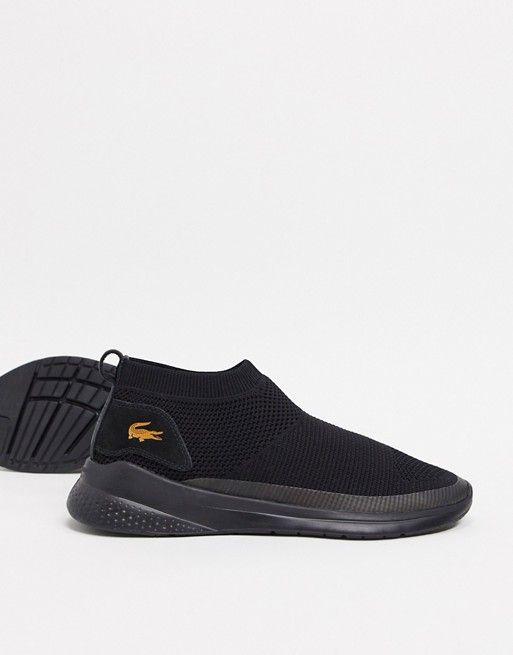 lacoste sneakers lt fit sock