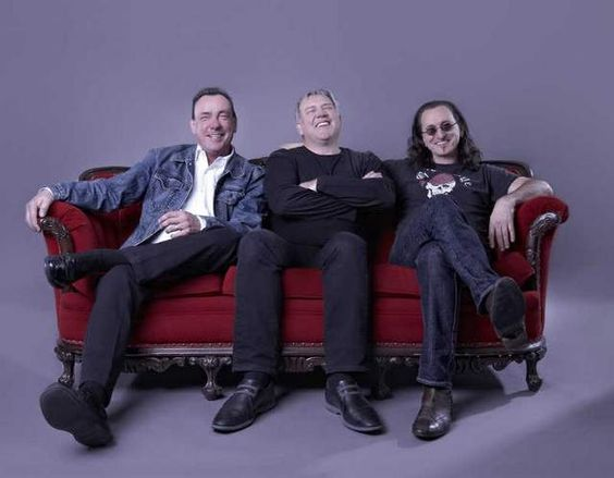 Rush - Neil Peart, Alex Lifeson and Geddy Lee.