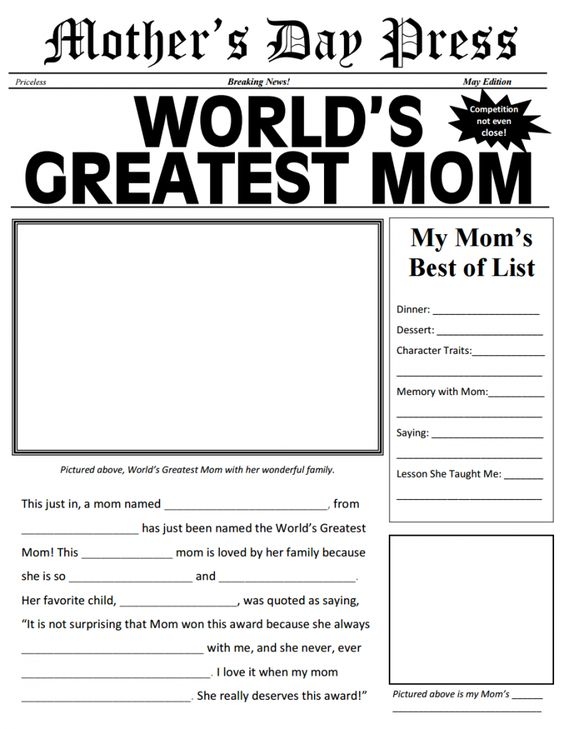 Diy MotherS Day Ideas  Frugal Free Printable And Newspaper