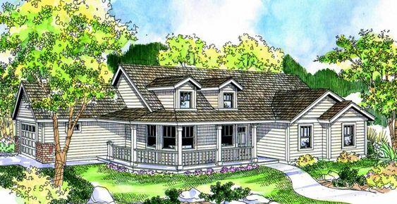 House Plan 035 00365 Farmhouse Plan 1 506 Square Feet