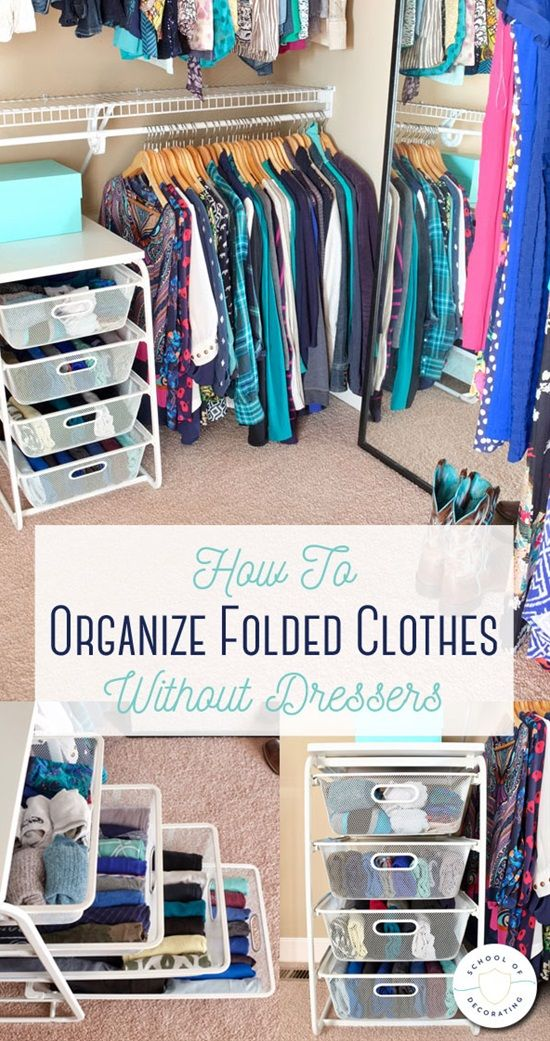 15 Clever Space Saving Clothes Laundry Folding Tips Diy