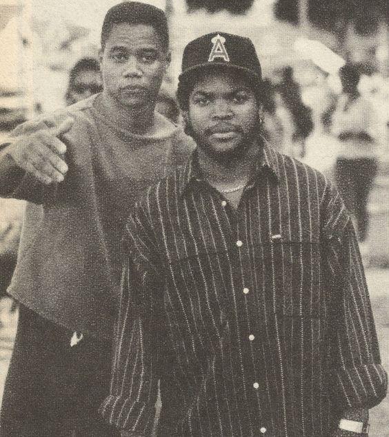 Cuba Gooding Jr. & Ice Cube In Boyz N The Hood