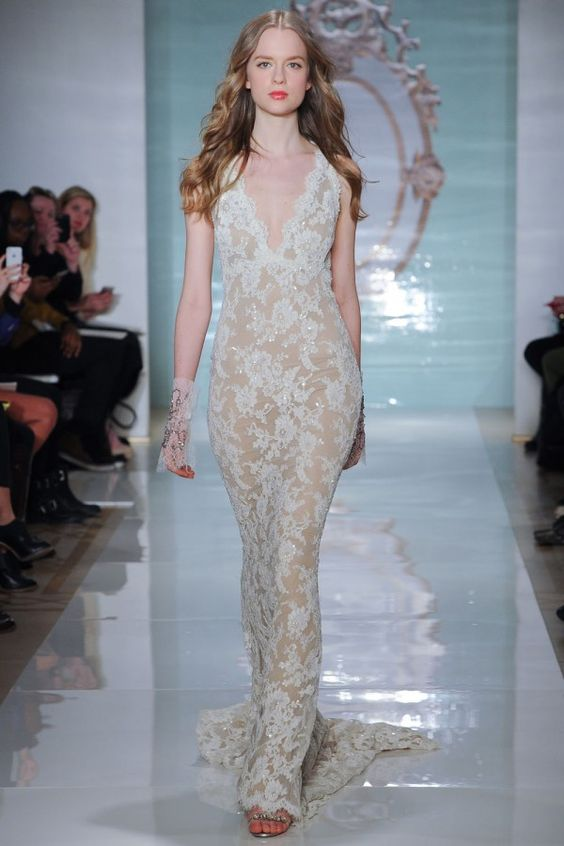 Reem Acra Wedding Dresses for Spring 2015