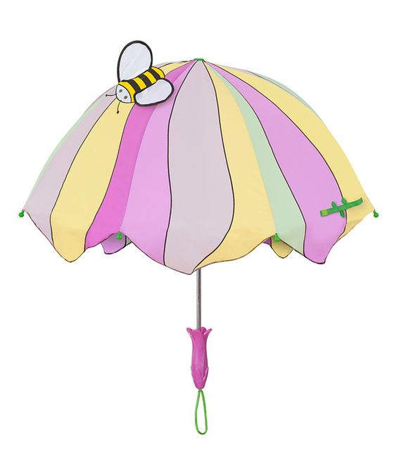 Look at this Kidorable Pink Lotus Umbrella on #zulily today!