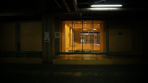 """Underground Car Park_3"" Photograph by Sakak"
