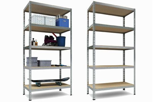 Tkt Heavy Duty Shelving 5 Shelf Shelving Unit Metal Storage Shelves Shelves Storage Shelves