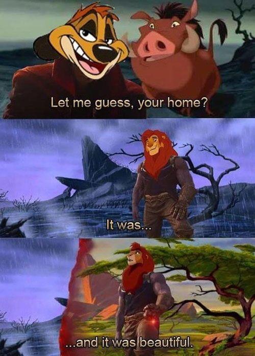 Relevant Let Me Guess Your Home Lion King Funny Funny Disney Memes Disney Memes