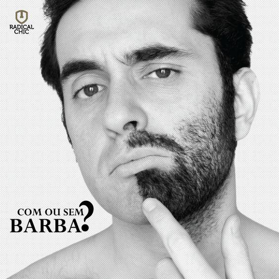 Muitos homens têm dúvidas na hora de fazer a barba, se deixa crescer ou se tira tudo. É uma dúvida cruel e que pode causar arrependimento, rs. Por isso, antes de decidir o que fazer, veja com qual roupa irá sair e se ela combinará com o estilo da barba, veja se a mesma esta de forma apresentável ou bagunçada, para poder tomar a decisão de fazer ou apenas aparar.  O importante é se sentir bem para sair com barba ou sem barba.  #RadicalChic #Barba #Estilo #Homens #Modernidade