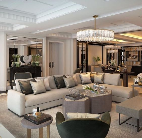 Simple Ideas To Style Your Luxury Interiors Luxury Living Room Luxurious Bedrooms Living Room Designs Normal living room interior design