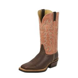 Justin Men's AQHA Q-Crepe Boot. Now Available at SmartPak!