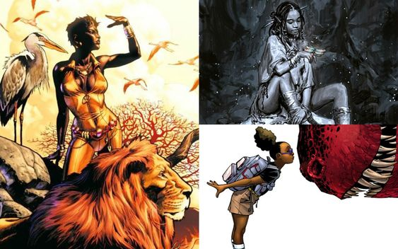 Black women characters  are often overlooked, oversexualized, and written as one-dimensional  compar...
