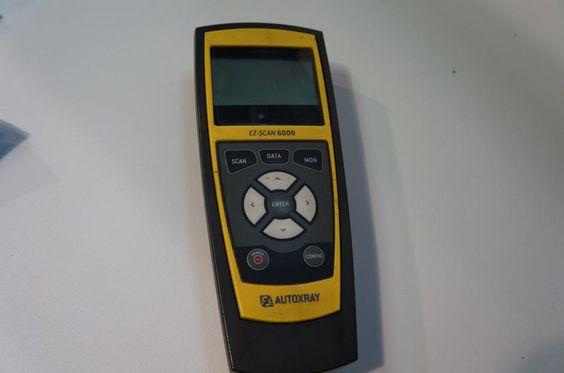 autoxray ez scan 6000 manual