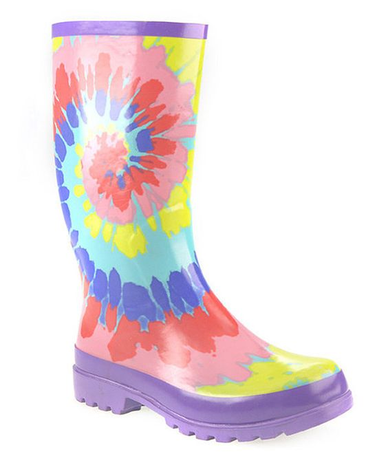 d657f107311 Tie dye rain boots / Jerome arizona wine