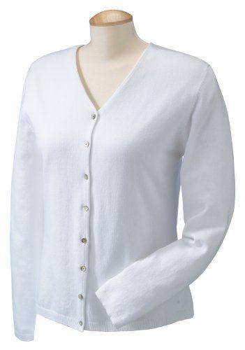Devon  Jones Pink Ladies Everyday Cardigan Sweater. DP450W $18.89